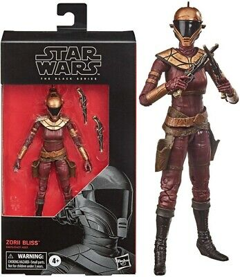 Star Wars The Black Series 6 Inch Action Figure - Zorii Bliss - NEW! BOXED!