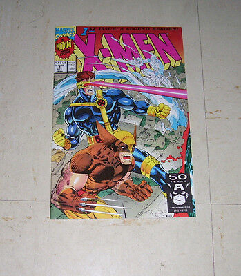 X Men Issue  1 Direct Edition Cover C Marvel 1991 Chris Claremont   Jim Lee