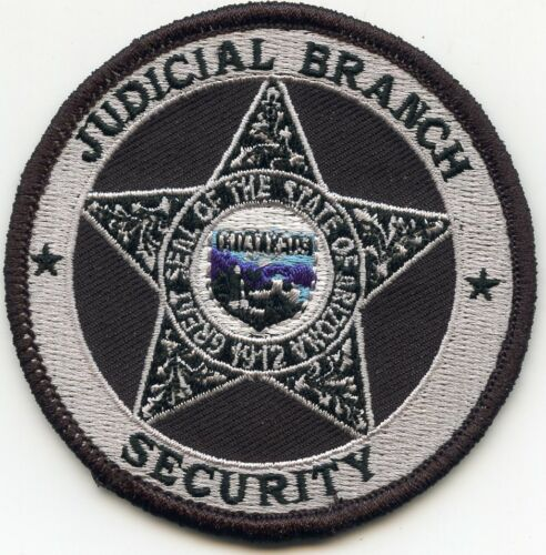 ARIZONA AZ STATE COURT JUDICIAL BRANCH SECURITY sheriff police PATCH