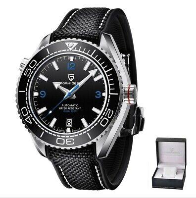 PAGANI DESIGN Top Brand Sports Men Mechanical Wristwatch Ceramic Bezel...