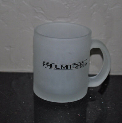 Paul Mitchell Frosted Glass Mug