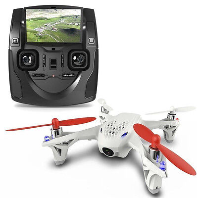 Quadcopter Drone RC Mini Helicopter Hubsan H107D Video Camera FPV X4 Gyro RTF