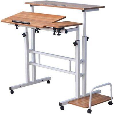 Standing Desk/Height Adjustable Computer Table Desk Standing Stand Workstation