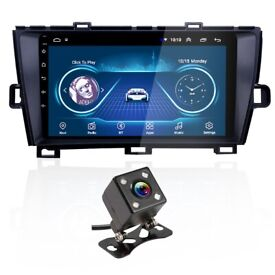 Toyota Prius Android Car Stereo GPS Navigation Bluetooth USB Radio and Camera + Free Fitting £249.99
