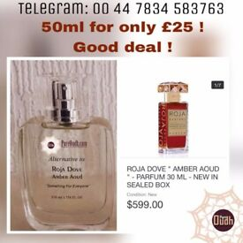 ROJA AMBER PERFUME SPRAY ALTERNATIVE