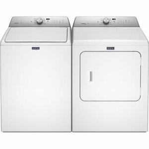 29-inch White Washer-Dryer Combo, Maytag GAZ