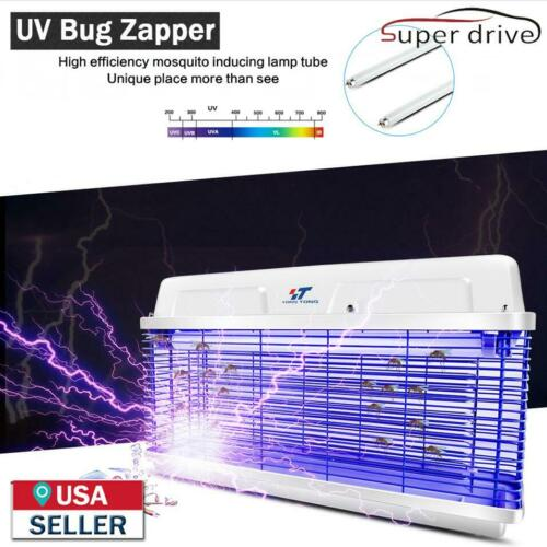 20W UV Light Electric Bug Zapper Insect Killer Pest Control Fly Mos​quito Killer
