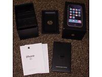 Box for iPhone 3G black – original box