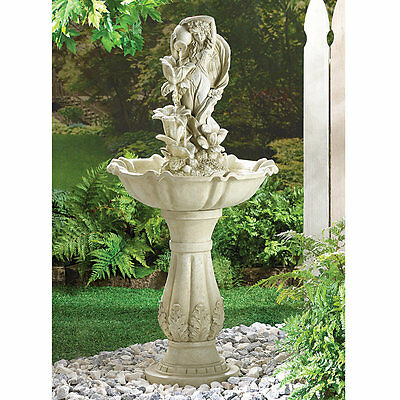 - Garden Maid Outdoor Water Fountain