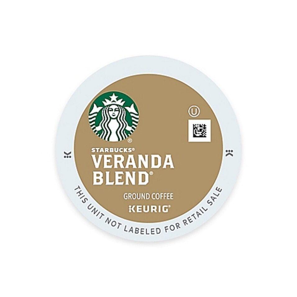 Starbucks Veranda Blend Blonde Coffee Keurig K Cups 16 Count