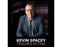 Kevin Spacey - Masterclass - Teaches You Acting - Online Video Programme Coupon