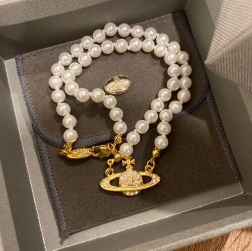 Jewellery - vivienne westwood Pearl Chocker Gold