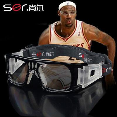 Sport protective eyeglass Basketball safety glasses Clear lens myopia in (Eyeglasses Lens Options)