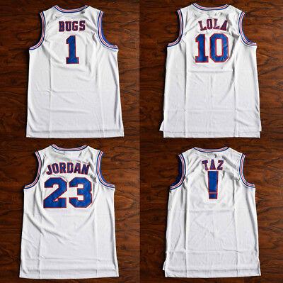 Space Jam Tune-Squad Basketball Jersey movie TAZ ! Lola #10 Bugs Bunny #1 etc...
