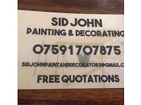 Painter Decorator By Sid John