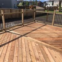 Fence and deck builder for hire