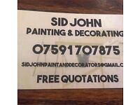 Painter/Decorator by Sid john