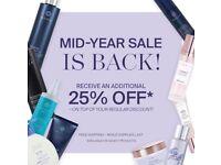 Huge savings on salon quality hair products