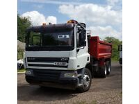 Grab tipper lorry