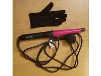 TRESemmé Volume Curl Wand and heat resistant glove