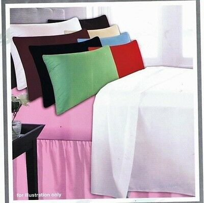 KING SIZE FITTED SHEETS JOB LOT ASSORTED COLOURS POLYCOTTON 56 PICK x6