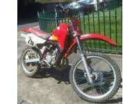 REDUCED! KAWASAKI KMX 125cc - SUPERFAST 2 STROKE -Rare Off Road Crosser Dirt Bike Scrambler