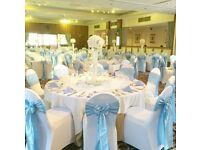 50 X White Wedding Chair Covers - Ex Stock - £25