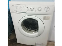 c295 white zanussi 6kg 1400spin washing machine comes with warranty can be delivered or collected