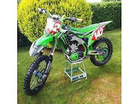 Kxf 450 motocross bike not yzf or ktm or rmz