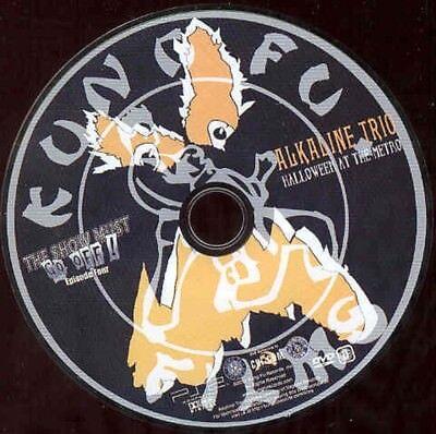 Alkaline Trio Music Concert DVD Halloween At The Metro  Kung Fu  NO CASE - Kung Fu Halloween