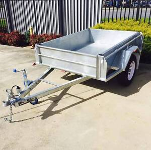 6x4 Hot Dipped Galvanised Single Axle Trailer Murray Bridge Area Preview