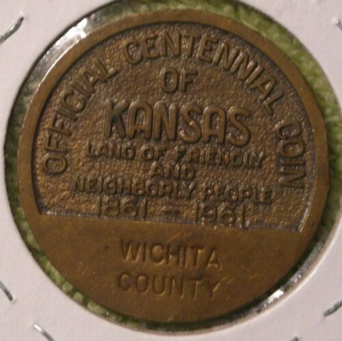 Wichita County Kansas Centennial medal rarest