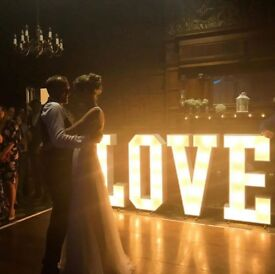 Amazing 4FT wedding and party lights for hire