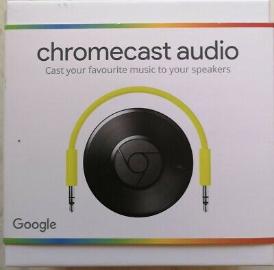GOOGLE CHROMECAST - Audio Media Streamer 2nd Generation WiFi Wireless