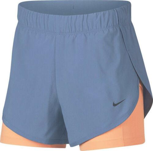 NWT Nike Womens Dri-Fit Flex 2 in 1 Running Shorts Size XL 2XL AR6353