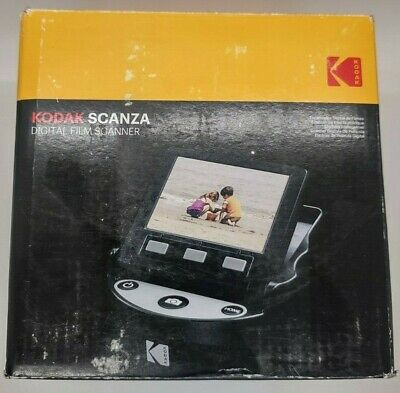 KODAK SCANZA Digital Film & Slide Scanner - Converts 35mm, 126, 110, Super 8