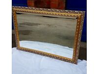 Gold Framed Mirror
