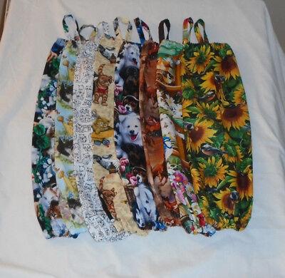 Animal Design Homemade Fabric Plastic Grocery Bag Holder