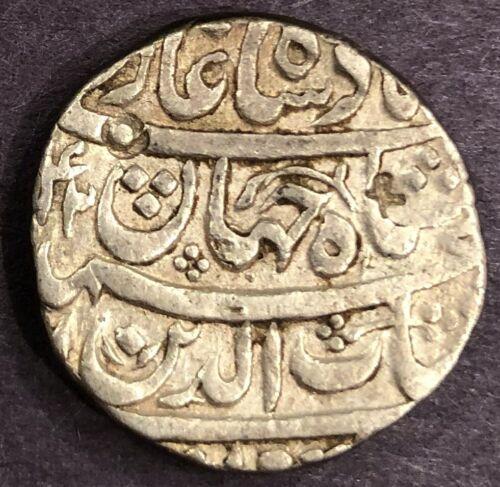 India - Mughal, Shah Jahan, Rupee, KM# 224.1, Ahmadabad, Year 5, AH 1042, XF