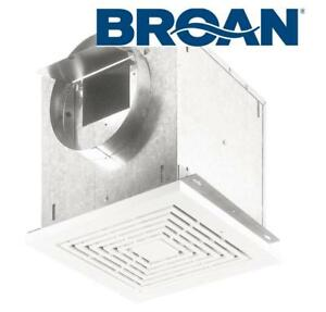 NEW BROAN BATHROOM EXHAUST FAN L100 231021914 109 CFM High-Capacity Ventilation Ceiling