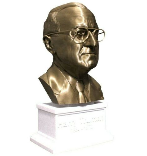 Harry S. Truman 12 inch 3D Printed Bust US President #33 Art FREE SHIPPING