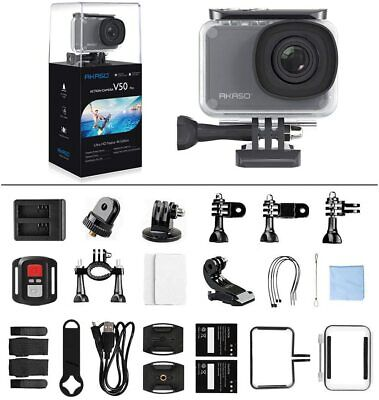 AKASO V50 Pro 4K HD Action Camera WiFi Touch Screen Waterproof Camcorder