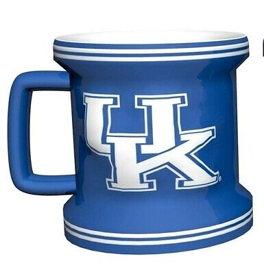 KENTUCKY WILDCATS Shot Glass NCAA Teams Sculpted Ceramic 2 Oz Mug  Ncaa Kentucky Wildcats Team Glass