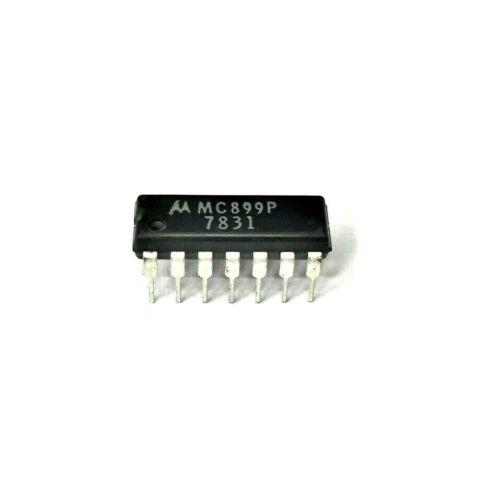 Motorola MC899P - Inverting-Function Buffer Gate - 14 PIN DIP RTL IC, NOS