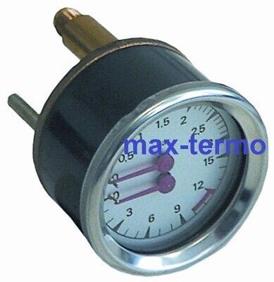 Manometer Double Scale 63mm For Espresso Machines Faema Grimac La-marzocco
