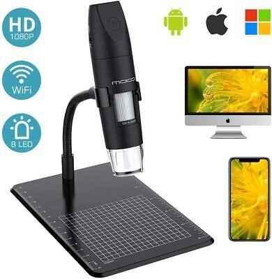 Moko Wifi Usb Digital Microscope 1080p Hd 2mp Camera For Iphoneipadwindowmac