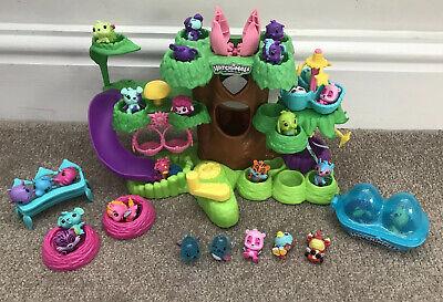 Huge Bundle Hatchimals Colleggtibles Treehouse Playhouse Set Collectible Figures