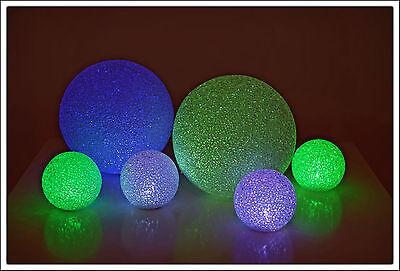 LED Leuchtkugel mit Farbwechsel - 5 Größen -  Ball Kugel Lampe Stimmungslampe