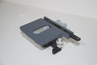 Olympus Microscope 3 Axis Stage Plate Table Used Part Assemblies J2k