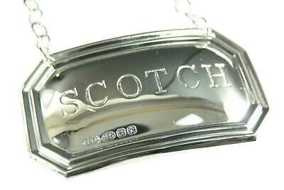 BROADWAY /& Co Wine Label Classic DECANTER PORT Sterling Silver
